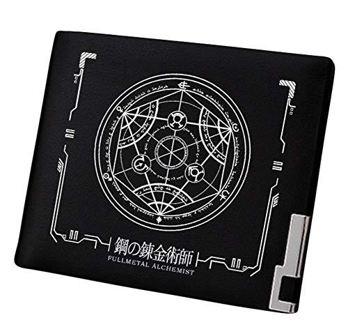 - Gumstyle Fullmetal Alchemist Anime Artificial Leather Wallet Billfold Money Clip Bifold Card Holder 3