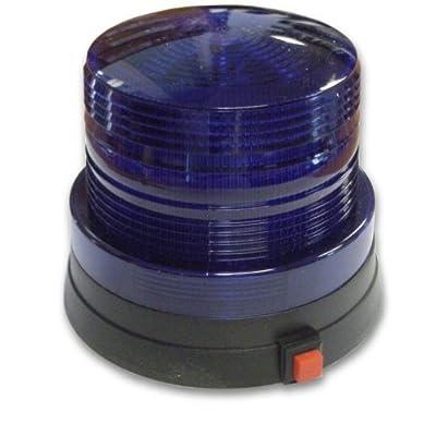 Magique Novelties FL1040 Led Police Light- Blue: Toys & Games