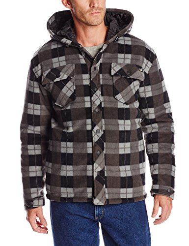 - Caterpillar Active Work Jacket, Grey Watch Plaid, Large