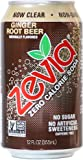 Zevia All Natural Soda, Ginger Root Beer, 12-Ounce Cans (Pack of 24)