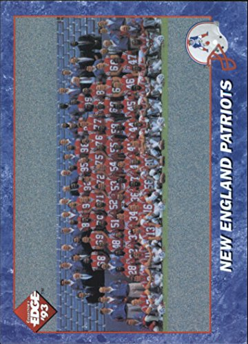 1993 Collector's Edge #130 Patriots Team Photo - Patriots Team Photo