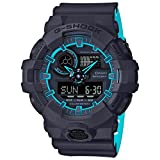 Casio G-Shock Mens Sports Watch (Navy Blue / Light Blue)