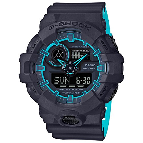 Casio GA700SE-1A2 Navy Blue 53.4mm Resin G-Shock GA-700 Men's Watch