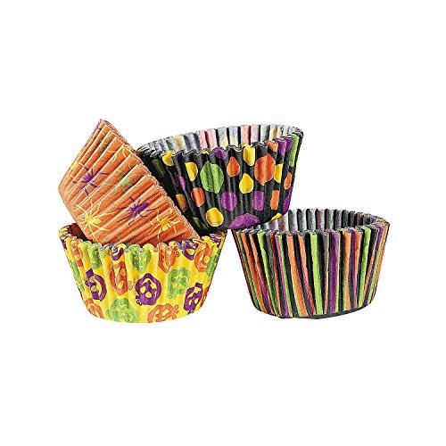 100 - Halloween Cupcake Paper / Baking Cups - (Cupcake D'halloween)