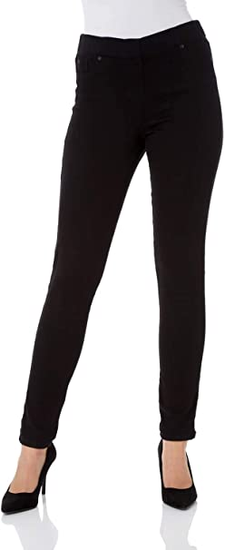 NEW WOMAN/'S LADIES TIGHT FIT STRETCH SKINNY JEANS ELASTICATED WAIST BLUE BLACK