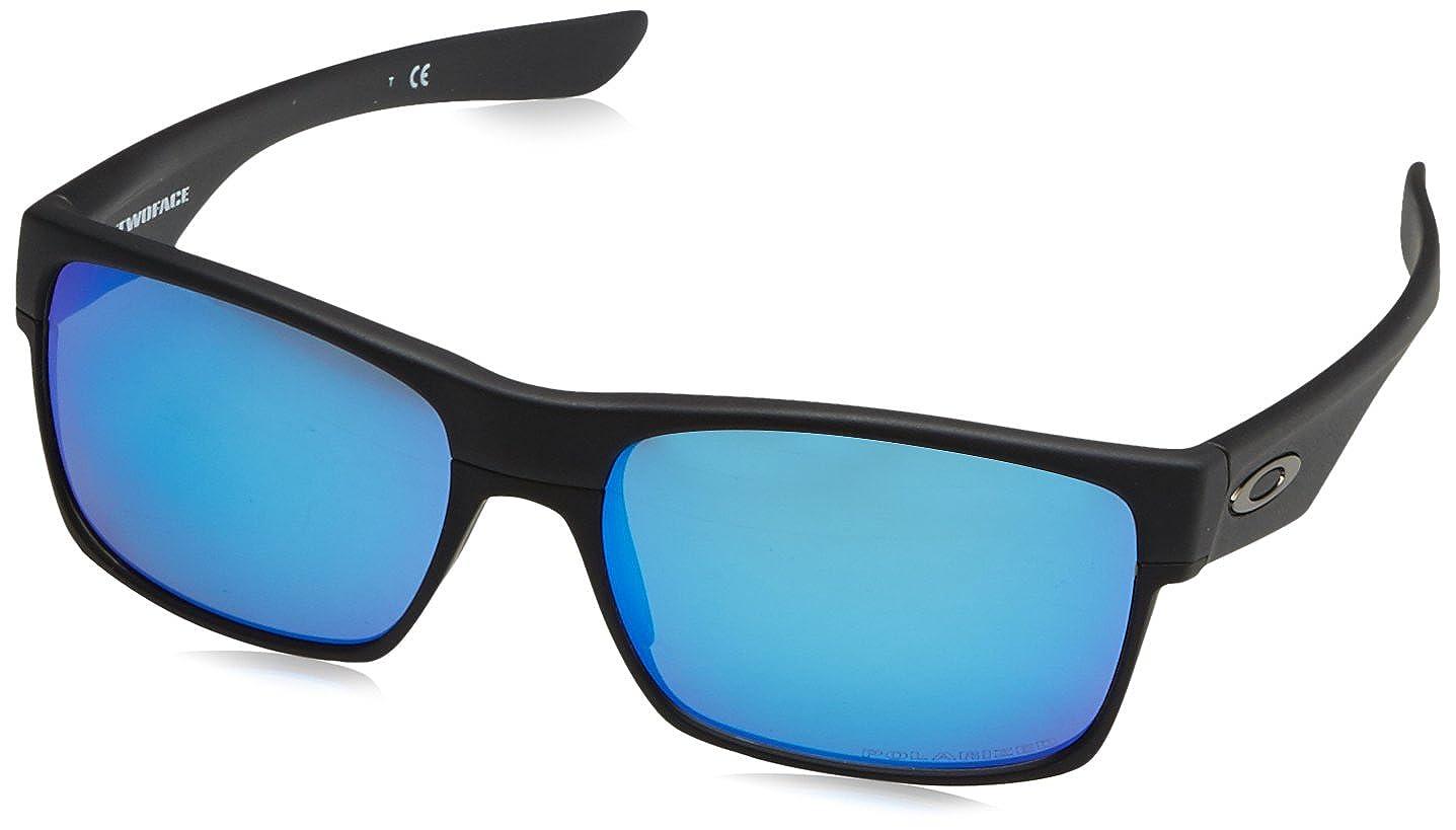 Oakley Twoface Gafas de sol, Rectangulares, Polarizadas, 60, Negro: Amazon.es: Ropa y accesorios