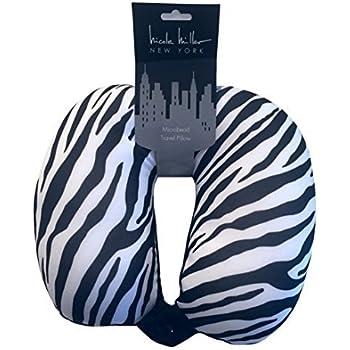 Amazon.com: Nicole Miller Micro Bead Travel Pillow / Neck ...