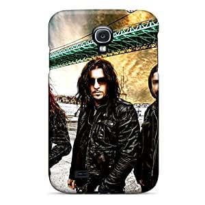 Samsung Galaxy S4 Vyb12946dkGI Provide Private Custom Nice Children Of Bodom Band Image Protector Cell-phone Hard Cover -AlainTanielian