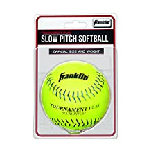Franklin Sports Tournament Play Slow Pitch Softball, 12""