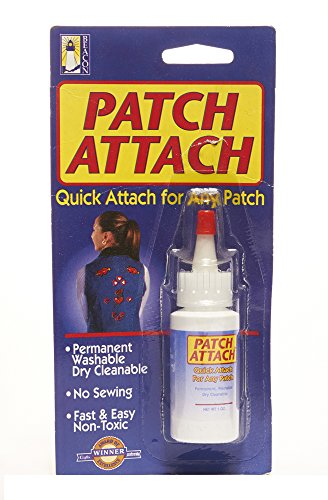 Beacon Patch Attach, - Glue On Fabric Patches