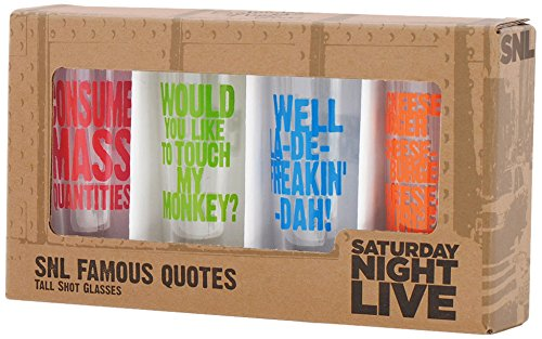 Saturday Night Live Best of Collection No.2 4- Tall Shot Glass