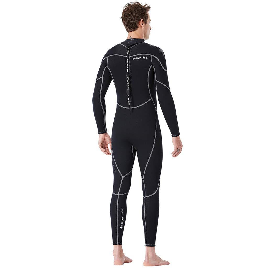Amazon.com: CapsA Men Full Wetsuit Keep Warm Sunscreen ...