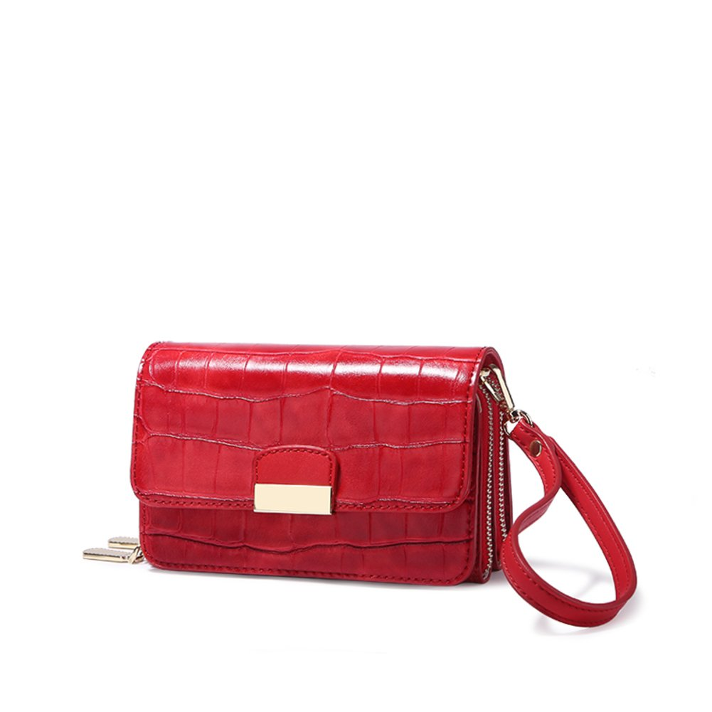 Lady bags/ crocodile small package/ mini Messenger bag/One-shoulder small bag in his hand-D