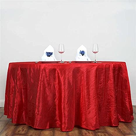 Red Table Runners Christmas Crushed Taffiter