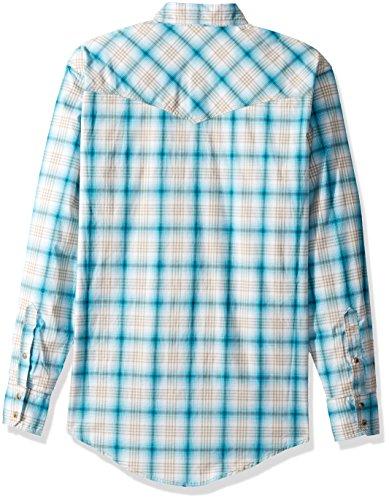 Wrangler Men s 20x Competition Comfort Two Pocket Long Sleeve Snap Shirt 7b8f03f3c888b