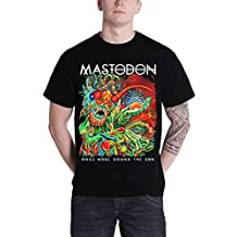 Mastodon T Shirt Once More Round the Sun Band Logo Official Mens New Black