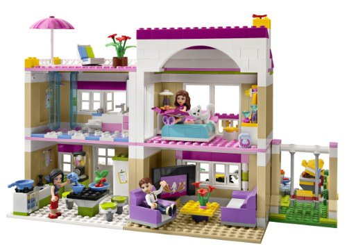 Lego Friends Olivias House 3315 Discontinued By Manufacturer