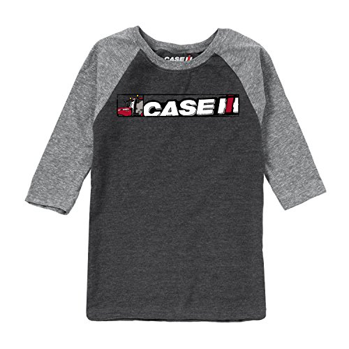 Caseih Logo Stripe CASE IH - Youth Raglan from Country Casuals