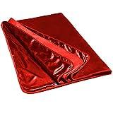 Liberator Fascinator Throe Sensual Throw Blanket, Red Fluffy