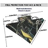 Face Mask Bandana Scarf Reusable 2 Filters