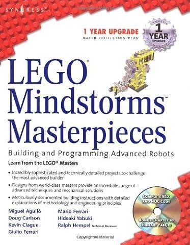 LEGO Mindstorms Masterpieces: Building Advanced Robots - Giulio Ferrari