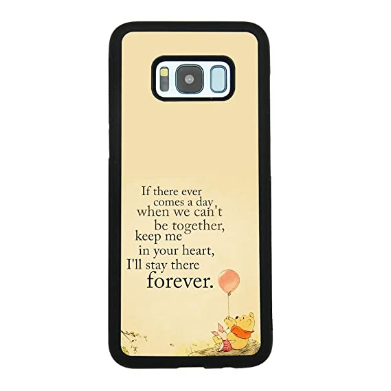 Amazon Com Winnie The Pooh Quote Art Case For Samsung Galaxy S8 Tpu