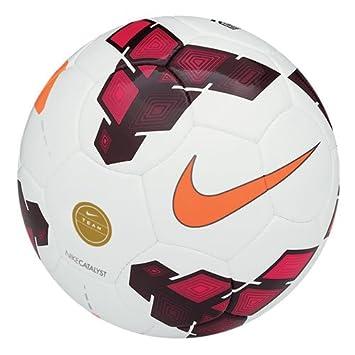 Nike Ball Team Catalyst Balón, Unisex, White/Red/Total Orange, 5 ...