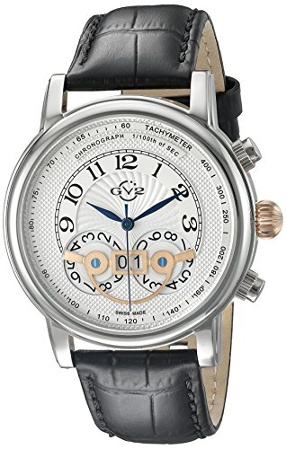GV2 by Gevril Men's 8100 Montreux Analog Display Watch