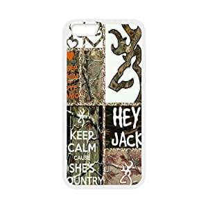 """Browning camo tree pattern Hard Plastic phone Case Cove For Apple Iphone 6,4.7"""" screen Cases XXM9108426"""