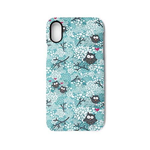 Polar Owl Pattern i-Phone X Case Ultra Slim Fit Case Anti-Scratch Soft for i-Phone X