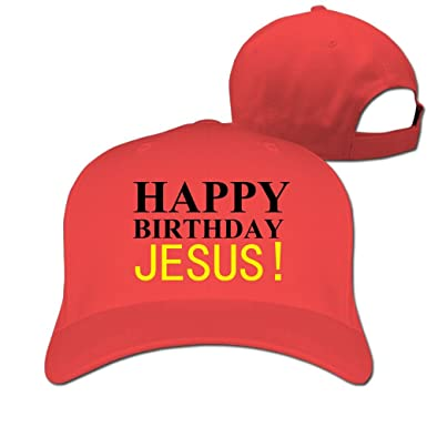 Good Happy Birthday Jesus Baseball Caps Simple Fitted Sized Summer Hats For Kids
