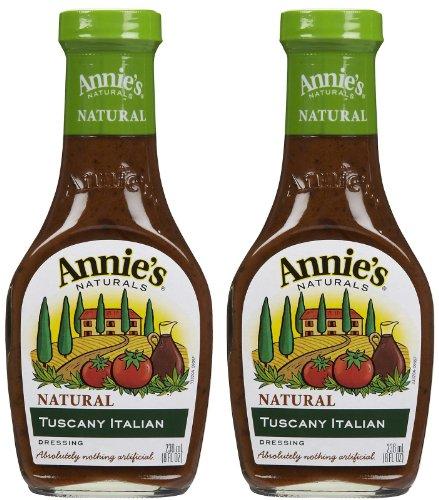 Dressing Italian Tuscany - Annie's Homegrown Tuscany Italian Dressing, 8 oz, 2 pk