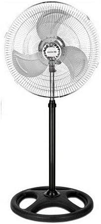 ELECTROTEK Ventildor de pie, altura regulable y motor silencioso ...
