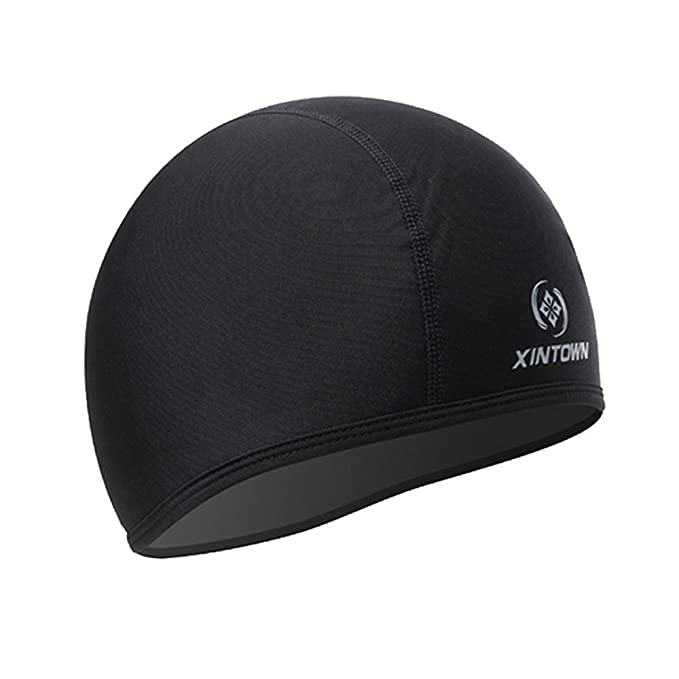 0cfe9fab Skull Cap Under Helmet Liner Moisture Wicking For Cycling Motorcycle ...