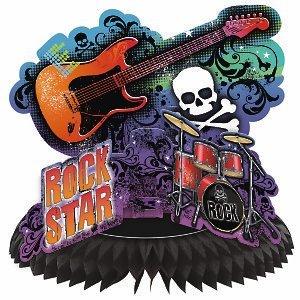 Rock Star Centerpiece ()