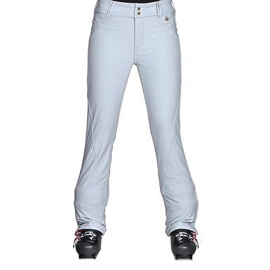 Amazon.com  NILS Betty Softshell Ski Pant Womens White  Clothing bb8f558c06