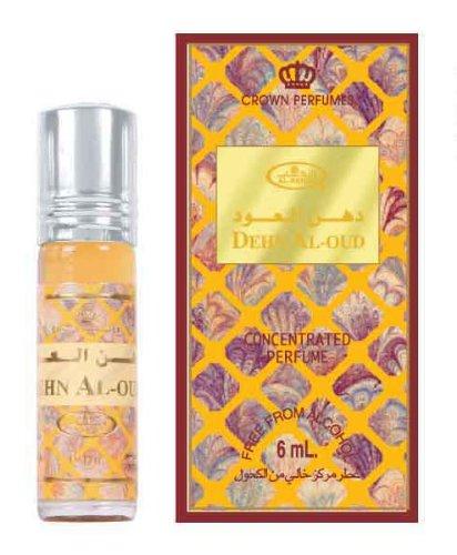 Aceite perfumado concentrado Dehn Al-Oud, de Al Rehab - 6 ml