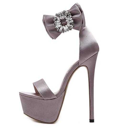 Sexy Sandali Alto Chunse sandali Con Estivo Donna Tacco Da Aperti rdoxBCe