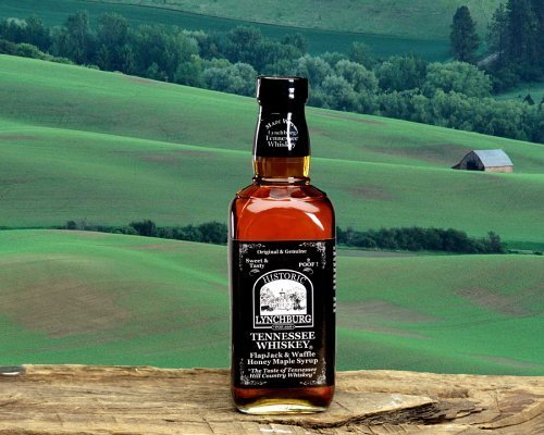 Historic Lynchburg Tennessee Whiskey FlapJack & Waffle Honey Maple (Maple Syrup Brands)