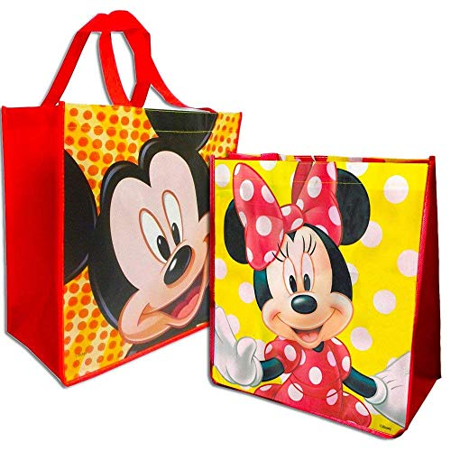 Disney Mickey and Minnie Mouse Reusable Tote Set -