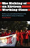 The Making of an African Working Class : Politics, Law, and Cultural Protest in the Manual Workers Union of Botswana, Werbner, Pnina, 0745334954