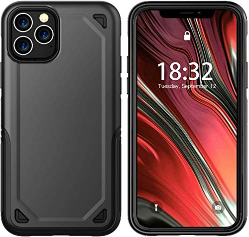 AJIA iPhone 11 Pro Max Case 【2019】 360°Stylish Dual Layer Hard PC Back Shockproof Slim Wireless Charing Support Cover Case for iPhone 11 Pro Max(6.5inch)