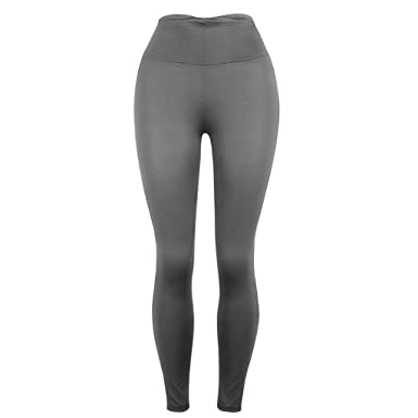 HCFKJ Pantalones Ajustados para Mujer Pantalones Deportivos ...
