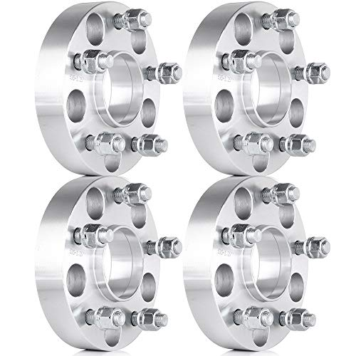 AUTOMUTO Hubcentric Lip Wheel Spacers 4X 5 Lug 5x5 to 5x5 1.25