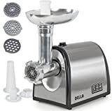 Electric Meat Grinder w/ 3 Cutting Accessory Easy operation 1000W by DELLA review