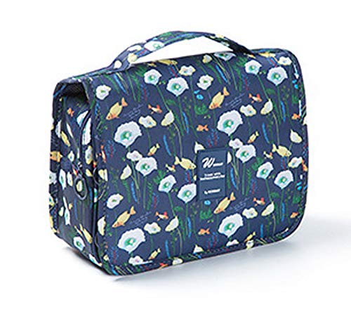 Zyaner Hanging Toiletry Bags-Travel Organizer Cosmetic Make up Bag case for Women Men Kit with Hanging Hook for vacation