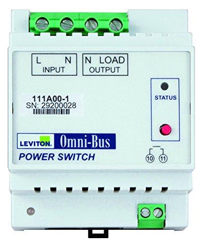 Leviton OMNI-BUS 3000W POWER SWITCH DIN RAIL