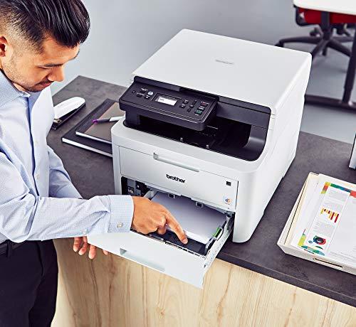 Brother HL-L3290CDW Color Providing Printer Results Convenient Copy & Scan, and Duplex Amazon Replenishment