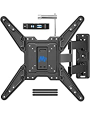 Mounting Dream Full Motion TV Wall Mount for Most 26-55 Inch TVs, Wall Mount for TV with Swivel Articulating Arms, Perfect Center Design TV Mounts Wall, up to VESA 400x400mm and 60 lbs. MD2413-P