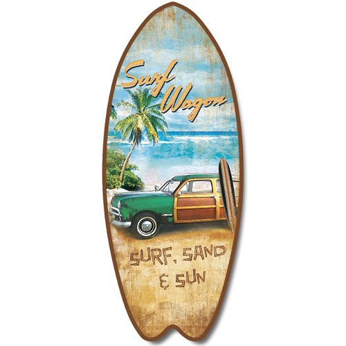 Woody Surfboard - 4